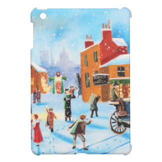 A Christmas Carol Scrooge and Tiny Tim by G Bruce Cover For The iPad Mini