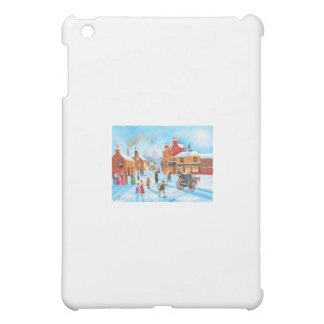 A Christmas Carol Scrooge and Tiny Tim by G Bruce iPad Mini Cases
