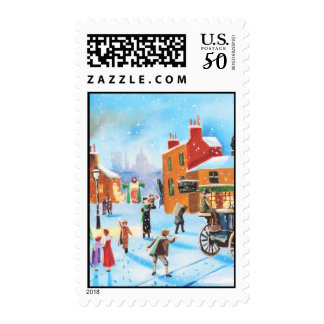 A Christmas Carol Scrooge and Tiny Tim by G Bruce Postage