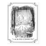 A Christmas Carol: The Ghost of Christmas Past Postcard