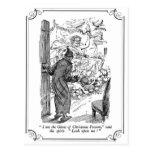 A Christmas Carol: The Ghost of Christmas Present Post Card