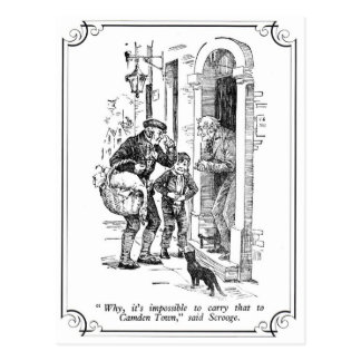 A Christmas Carol: Why, It's Impossible Post Card