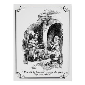 A Christmas Carol: You Will Be Haunted Print