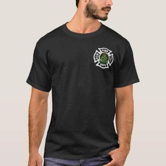 A Christmas Fire Dept T-Shirt