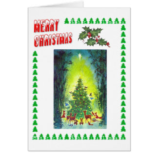 A Christmas Gathering Greeting Cards