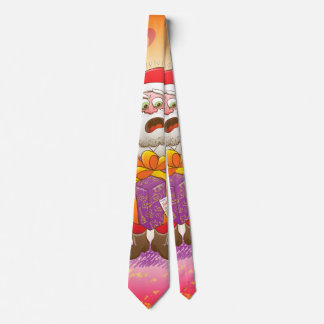 A Christmas Gift from Halloween Creepies to Santa Tie