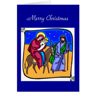 A Christmas Journey Card