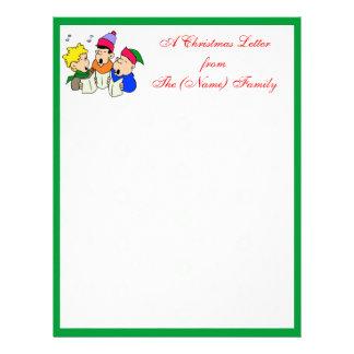 A Christmas Letter Letterhead