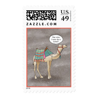 A Christmas Miracle Postage Stamp