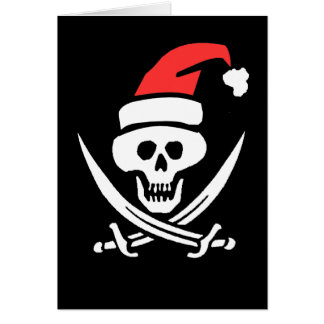 A Christmas Pirate Card
