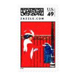 A Christmas Post Stamp