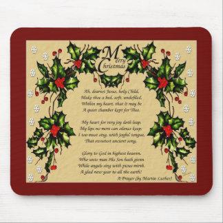 A Christmas Prayer Mouse Pad