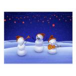 A Christmas Song Postcard