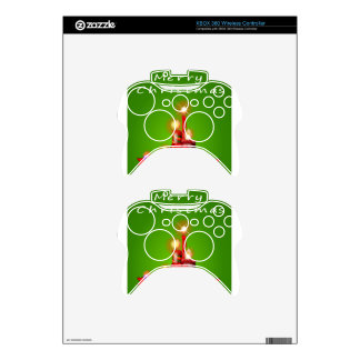 A christmas template with candles xbox 360 controller skins