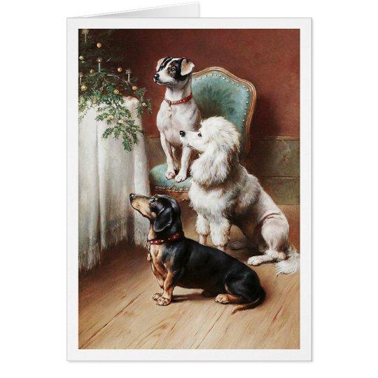 A Christmas Treat Carl Reichert Card