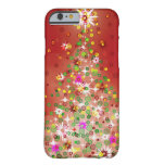 A Christmas tree that glows. iPhone 6 Case