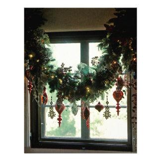 A Christmas Window Letterhead