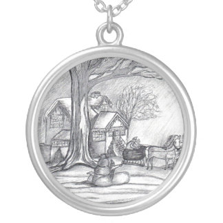 A Christmas Winter Day...Necklace
