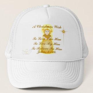 A Christmas Wish - Customize Trucker Hat
