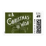 A Christmas Wish Postage