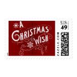 A Christmas Wish Postage Stamps