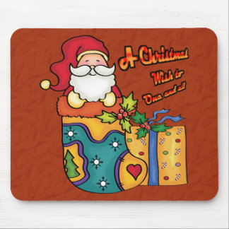 A Christmas wish to one and all Mouse Pad