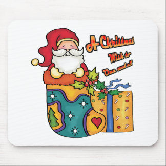 A Christmas wish to one and all Mouse Pads