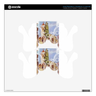 A Church at Cagnes by Pierre-Auguste Renoir PS3 Controller Skin