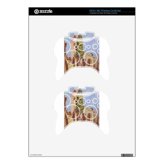A Church at Cagnes by Pierre-Auguste Renoir Xbox 360 Controller Skin
