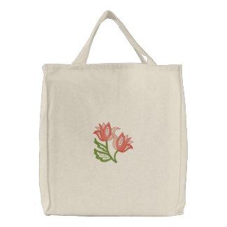 A cielo abierto floral bolsas