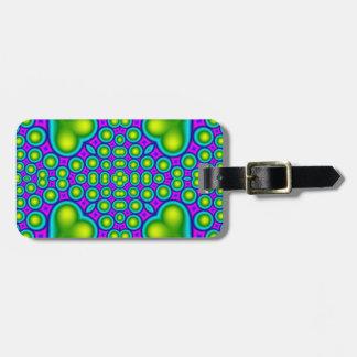 A Circle and hearth pattern Bag Tag