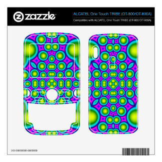 A Circle and hearth pattern ALCATEL Tribe Skin