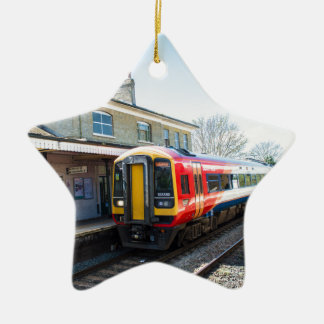 A Class 158, Romsey Station Ceramic Ornament