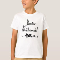 A Classic Junior Bridesmaid T-Shirt