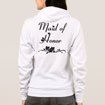 A Classic Maid Of Honor Hoodie