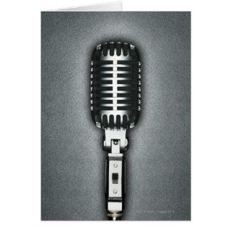A Classic microphone Card