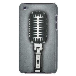 A Classic microphone iPod Case-Mate Case