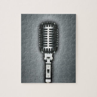 A Classic microphone Jigsaw Puzzles