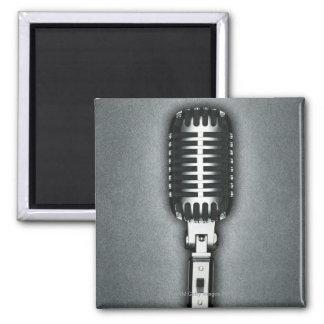 A Classic microphone Fridge Magnets