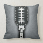 A Classic microphone Pillow