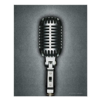A Classic microphone Posters