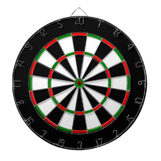 A Classic One Here for a Game of Darts Dartboard With Darts