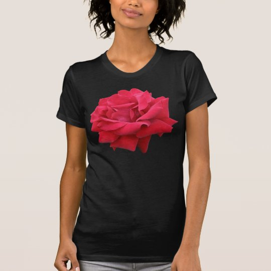 A Classic Red Rose T-Shirt