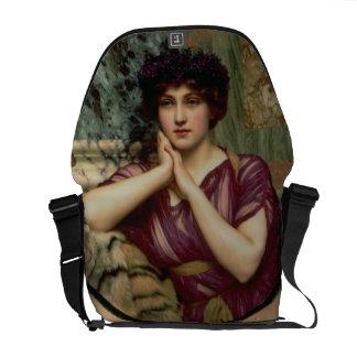 A Classical Beauty, 1901 (oil on canvas) Messenger Bag