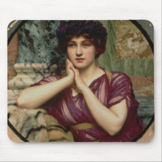 A Classical Beauty, 1901 (oil on canvas) Mouse Pad