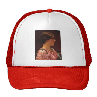 A Classical Beauty by John William Godward Trucker Hat