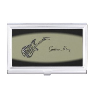 A Classy Case for Music Business Cards