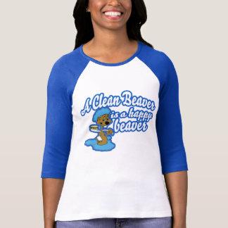 A Clean Beaver Is A Happy Beaver T-Shirt