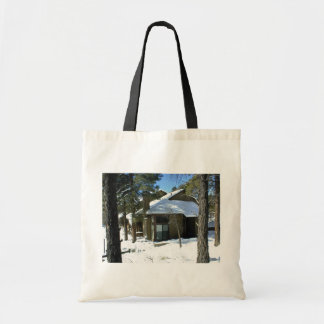 A Clear Day After A Snowy Night Canvas Bag