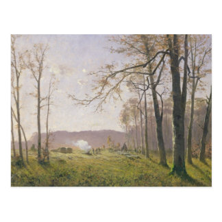 A Clearing in an Autumnal Wood, 1890 Post Cards
